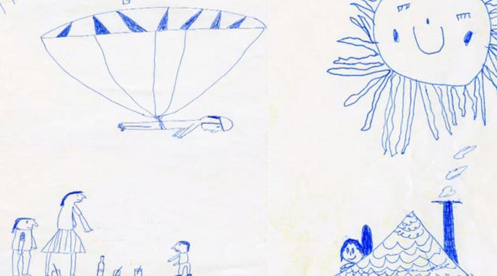 Felix Baumgartner disegno