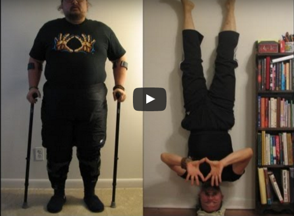 Yoga: Riabilitazione Miracolosa di un Veterano di Guerra [VIDEO]